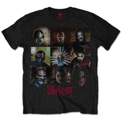 Slipknot Unisex Tee: Blocks