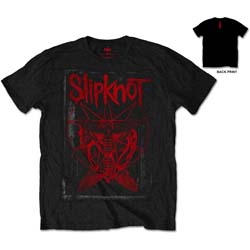 Slipknot Unisex Tee: Dead Effect (Back Print)