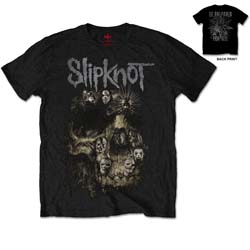 Slipknot Unisex Tee: Skull Group