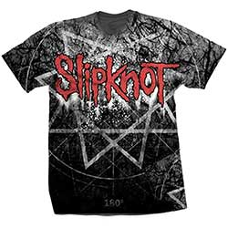 Slipknot Men's Tee: Giant Star (Sublimation Print)