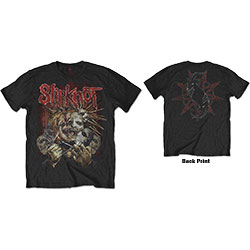 Slipknot Men's Tee: Torn Apart (Back Print)