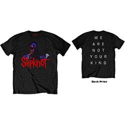 Slipknot Unisex Tee: WANYK Back Hit (Back Print)