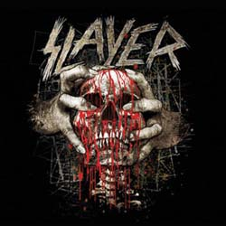 Slayer Single Cork Coaster: Skull Clench