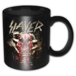 Slayer Boxed Standard Mug: Skull Clench
