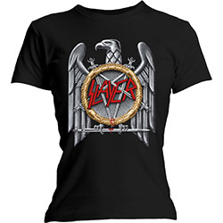 Slayer Ladies Tee: Silver Eagle