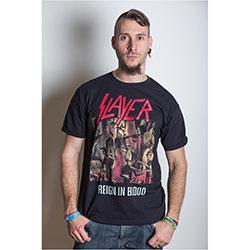 Slayer Men's Tee: Reign in Blood