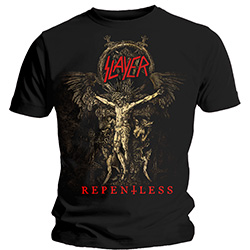 Slayer Men's Tee: Cruciform Skeletal