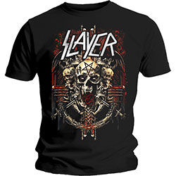 Slayer Men's Tee: Demonic Admat