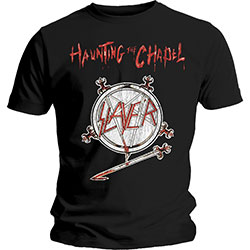 Slayer Men's Tee: Haunting the Chapel