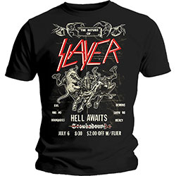 Slayer Men's Tee: Vintage Flyer