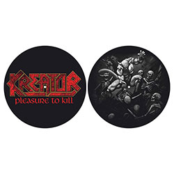 Kreator Slipmat Set: Pleasure to Kill