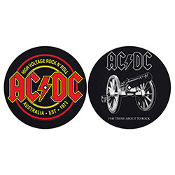AC/DC Slipmat Set: For Those About To Rock/High Voltage
