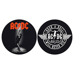 AC/DC Slipmat Set: Let There Be Rock/Rock & Roll