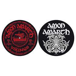 Amon Amarth Slipmat Set: Vikings