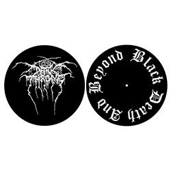 Darkthrone Slipmat Set: Black Death & Beyond