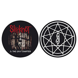Slipknot Turntable Slipmat Set: The Gray Chapter