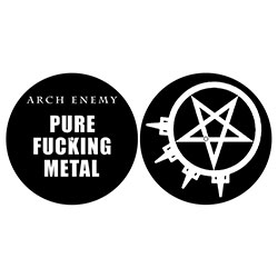 Arch Enemy Slipmat Set: Pure Fucking Metal