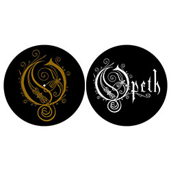 Opeth Slipmat Set: Logo/O