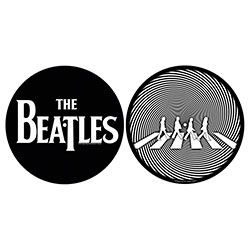 The Beatles Turntable Slipmat Set: Abbey Road Silhouette