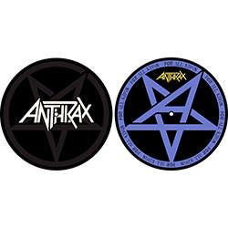 Anthrax Turntable Slipmat Set: Pentathrax / For All Kings (Retail Pack)