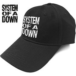 System Of A Down Unisex Baseball Cap: Stacked Logo