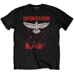 System Of A Down Unisex Tee: Dove Overcome