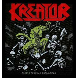 Kreator Standard Patch: Pleasure to Kill (Loose)