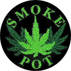 Generic Standard Patch: Smoke Pot (Loose)