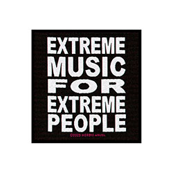 Morbid Angel Standard Patch: Extreme Music (Loose)