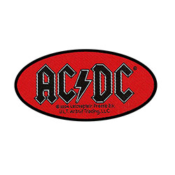AC/DC Standard Patch: Oval Logo (Loose)