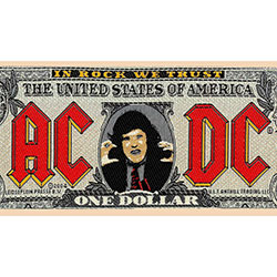 AC/DC Standard Patch: Bank Note (Loose)