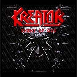 Kreator Standard Patch: Enemy of God (Loose)