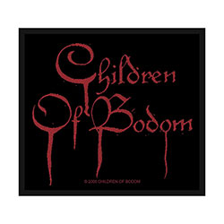 Children Of Bodom Standard Patch: Blood Logo (Loose)