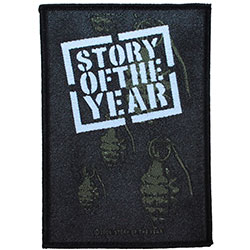 Story Of The Year Standard Patch: Grenades (Loose)