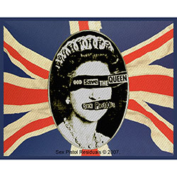 The Sex Pistols Standard Patch: God Save The Queen (Loose)