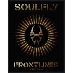 Soulfly Standard Patch: Frontlines (Loose)