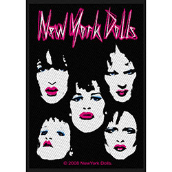 New York Dolls Standard Patch: Faces (Loose)