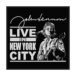 John Lennon Standard Patch: Live in New York (Loose)
