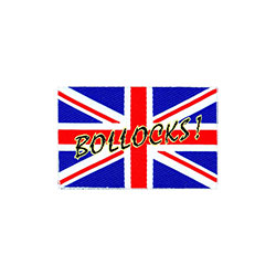 Generic Standard Patch: Union Jack/Bollocks! (Loose)