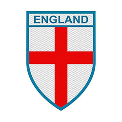 Generic Standard Patch: England (Loose)