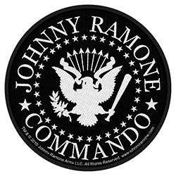 Johnny Ramone Standard Patch: Commando Seal (Loose)