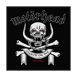 Motorhead Standard Patch: March Or Die (Loose)