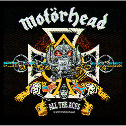 Motorhead Standard Patch: All The Aces (Loose)