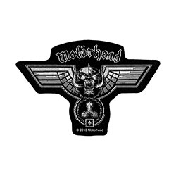 Motorhead Standard Patch: Hammered Cut Out (Loose)