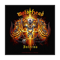 Motorhead Standard Patch: Inferno (Loose)