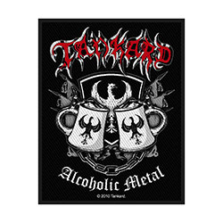 Tankard Standard Patch: Alcoholic Metal (Loose)