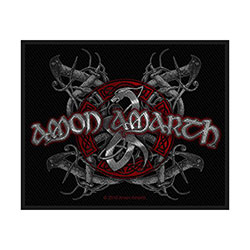 Amon Amarth Standard Patch: Viking Dog (Loose)