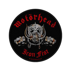 Motorhead Standard Patch: Iron Fist/Skull (Loose)
