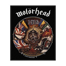 Motorhead Standard Patch: 1916 (Loose)