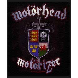 Motorhead Standard Patch: Motorizer (Loose)